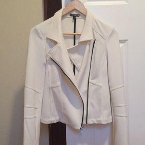 White Express blazer jacket